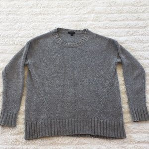 J CREW gray sweater